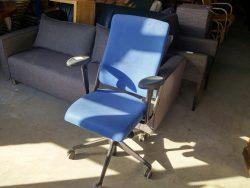 bureaustoel-blauw